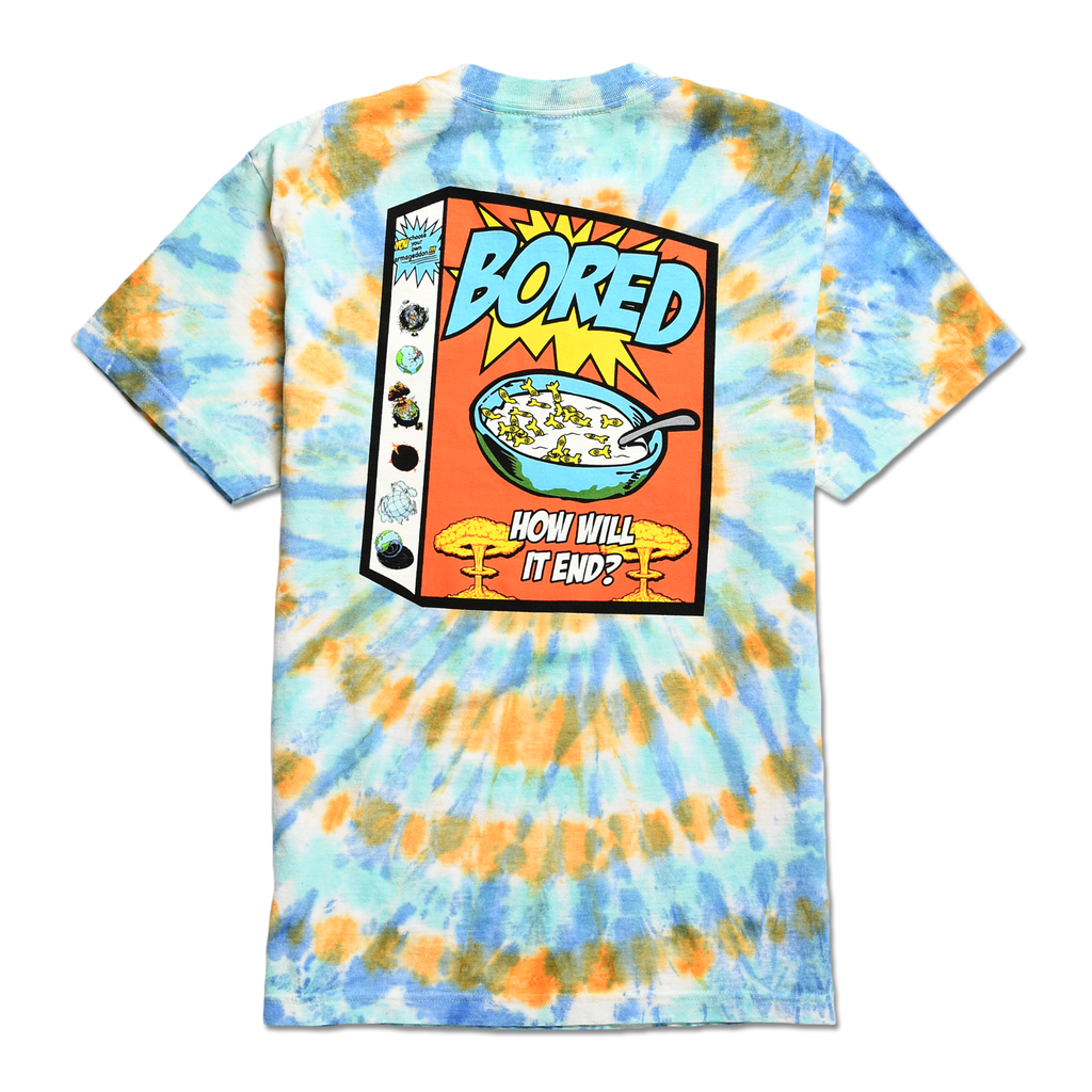 TEENAGE - BREAKFAST OF CHAMPS TEE by Blake Anderson's clothing brand BORED TEENAGER