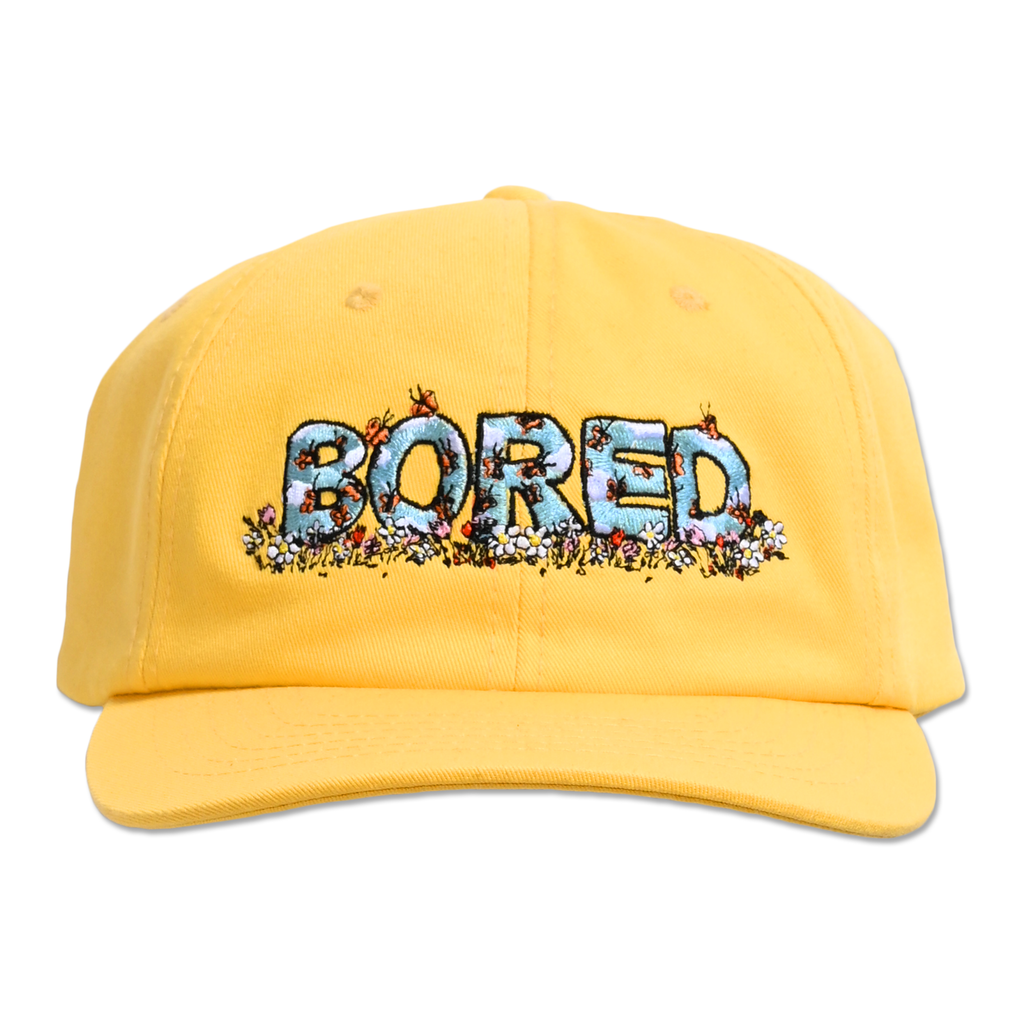 BORED SKIES DAD HAT by Blake Anderson's clothing brand BORED TEENAGER