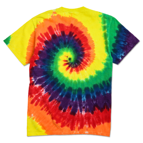 DON'T BE A BOZO TEE - RAINBOW TIE DYE