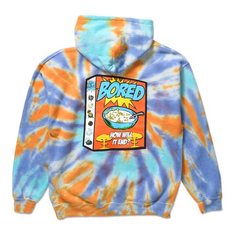 BREAKFAST OF CHAMPS HOODIE by Blake Anderson's clothing brand BORED TEENAGER - BACK