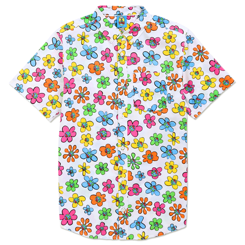TEENAGE - FLORAL BUTTON UP by Blake Anderson's clothing brand BORED TEENAGER