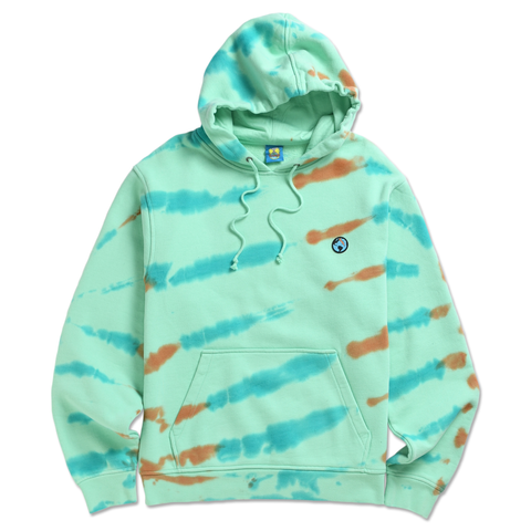 CRACKED EARTH TIE DYE HOODIE