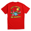 DON'T WORRY TEE by Blake Anderson's clothing brand BORED TEENAGER