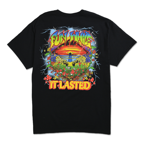 FUN WHILE IT LASTED TEE - BLACK