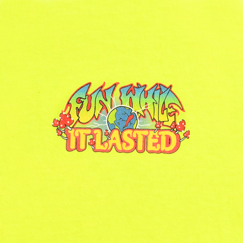 FUN WHILE IT LASTED TEE - NEON YELLOW