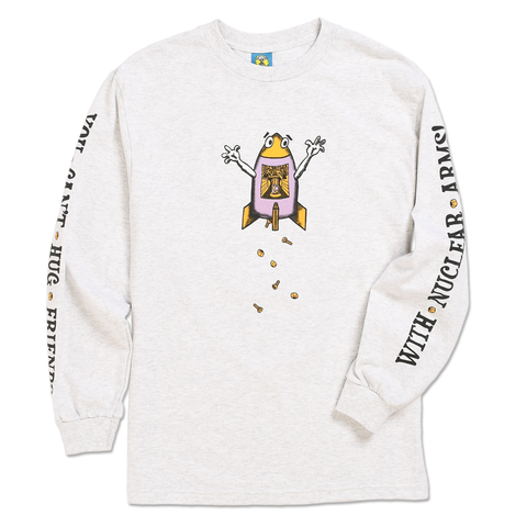 HUG FRIENDS LONG SLEEVE TEE