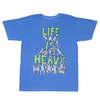 TEENAGE - LIFE IS HEAVY TEE from Blake Anderson's clothing brand Bored Teenager
