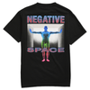 TEENAGE - NEGATIVE SPACE TEE by Blake Anderson's clothing brand BORED TEENAGER
