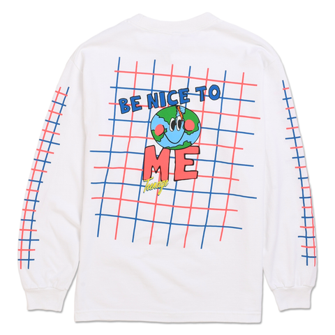 BE NICE TO ME LONG SLEEVE TEE