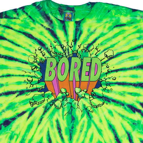 BORED CRACKED TIE DYE