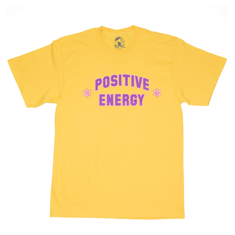 POSITIVE ENERGY TEE - YELLOW