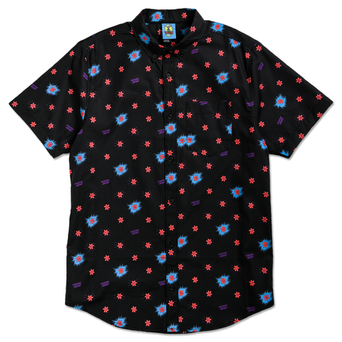POSITIVE ENERGY BUTTON UP