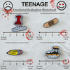 EMOTIONAL EVALUATION PIN SET