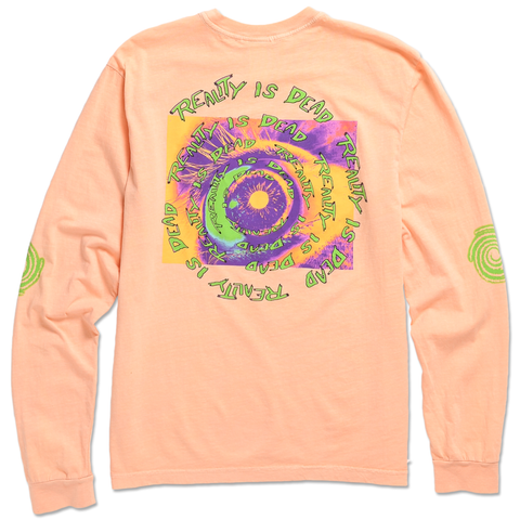 TEENAGE - REALITY IS DEAD LONG SLEEVE TEE by Blake Anderson's clothing brand BORED TEENAGER