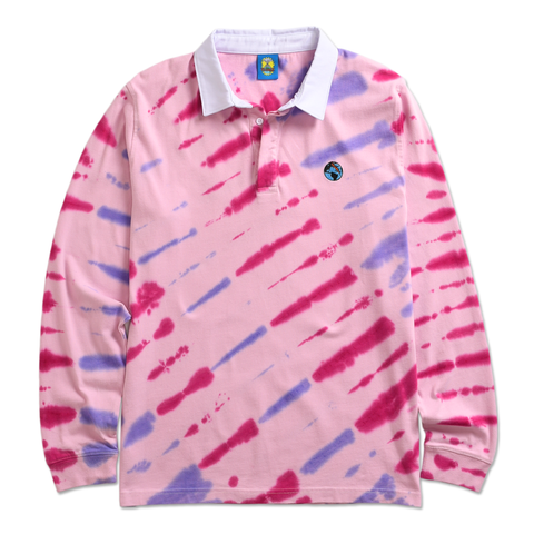 TEENAGE - TIE DYE RUGBY by Blake Anderson's clothing brand BORED TEENAGER