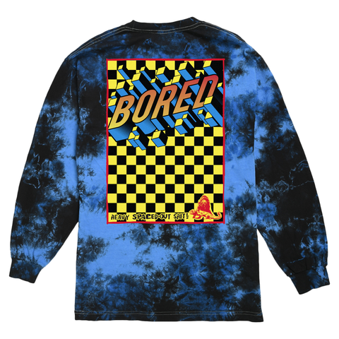 SPACED OUT LONG SLEEVE TEE By Blake Anderson's clothing brand Bored Teenager better known as Teenage.