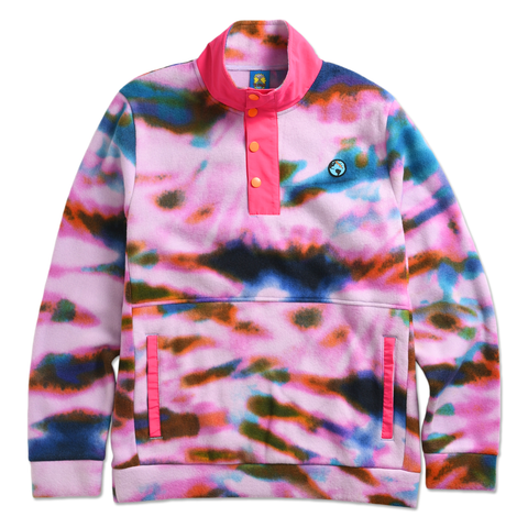 TEENAGE - TIE DYE TECH FLEECE by Blake Anderson's clothing brand BORED TEENAGER