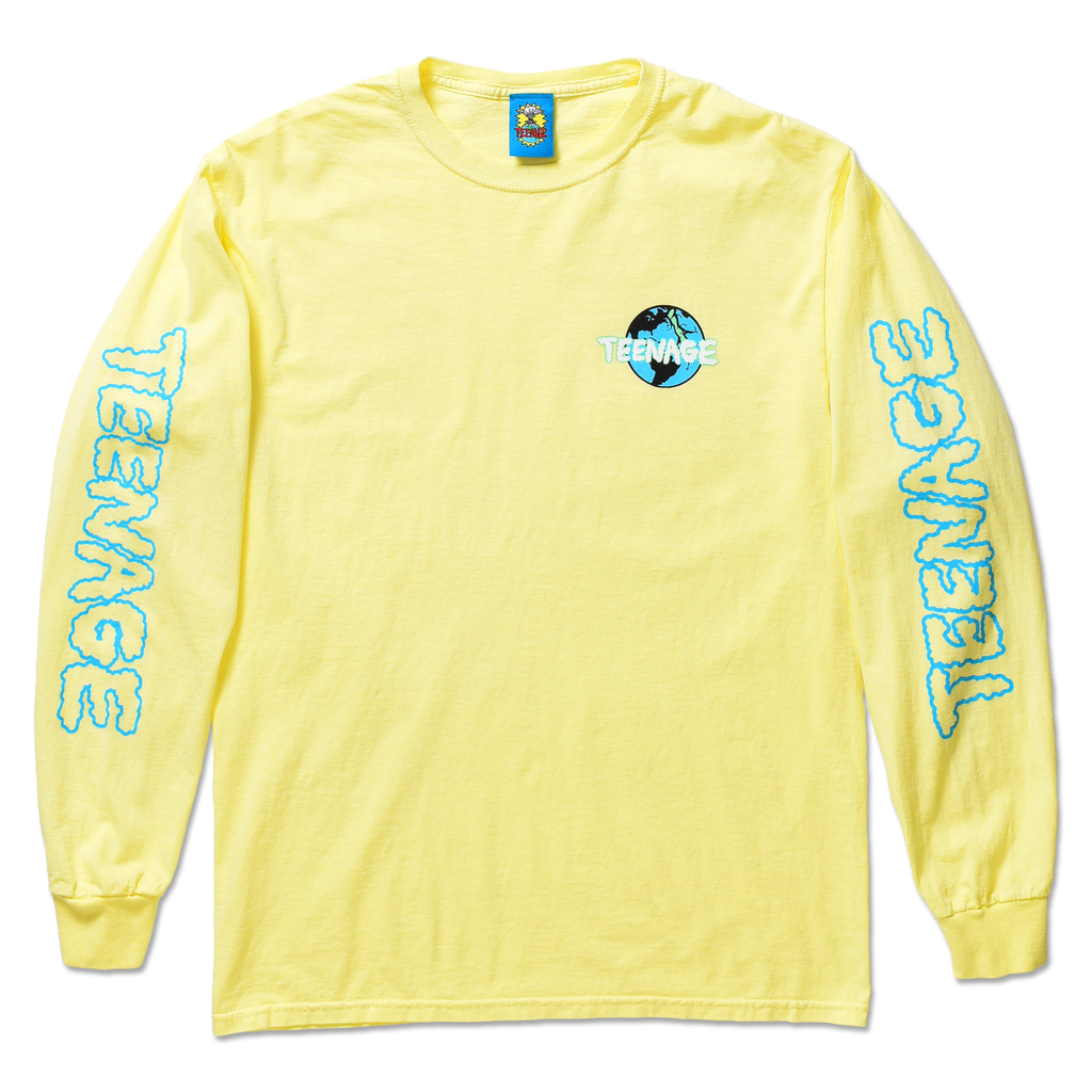 CLOUDY LONG SLEEVE TEE by Blake Anderson's clothing brand BORED TEENAGER