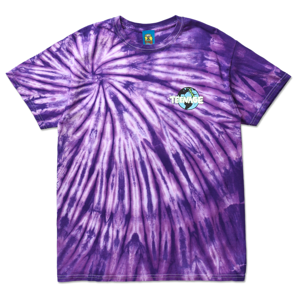 TOO CLOUDY TEE by Blake Anderson's clothing brand BORED TEENAGER - FRONT