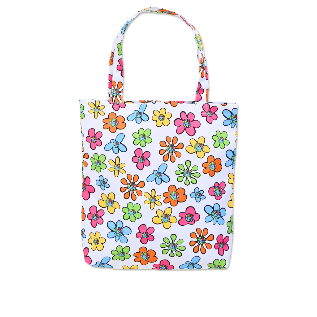 FLORAL TOTE BAG by Blake Anderson's clothing brand BORED TEENAGER