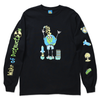 WAKE OF DESTRUCTION LONG SLEEVE TEE by Blake Anderson's clothing brand BORED TEENAGER - FRONT