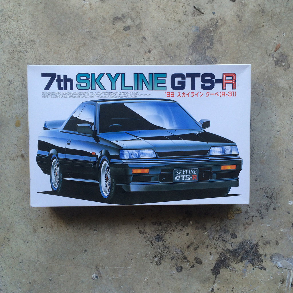 Fujimi R31 Skyline GTS-R 1/24 Model