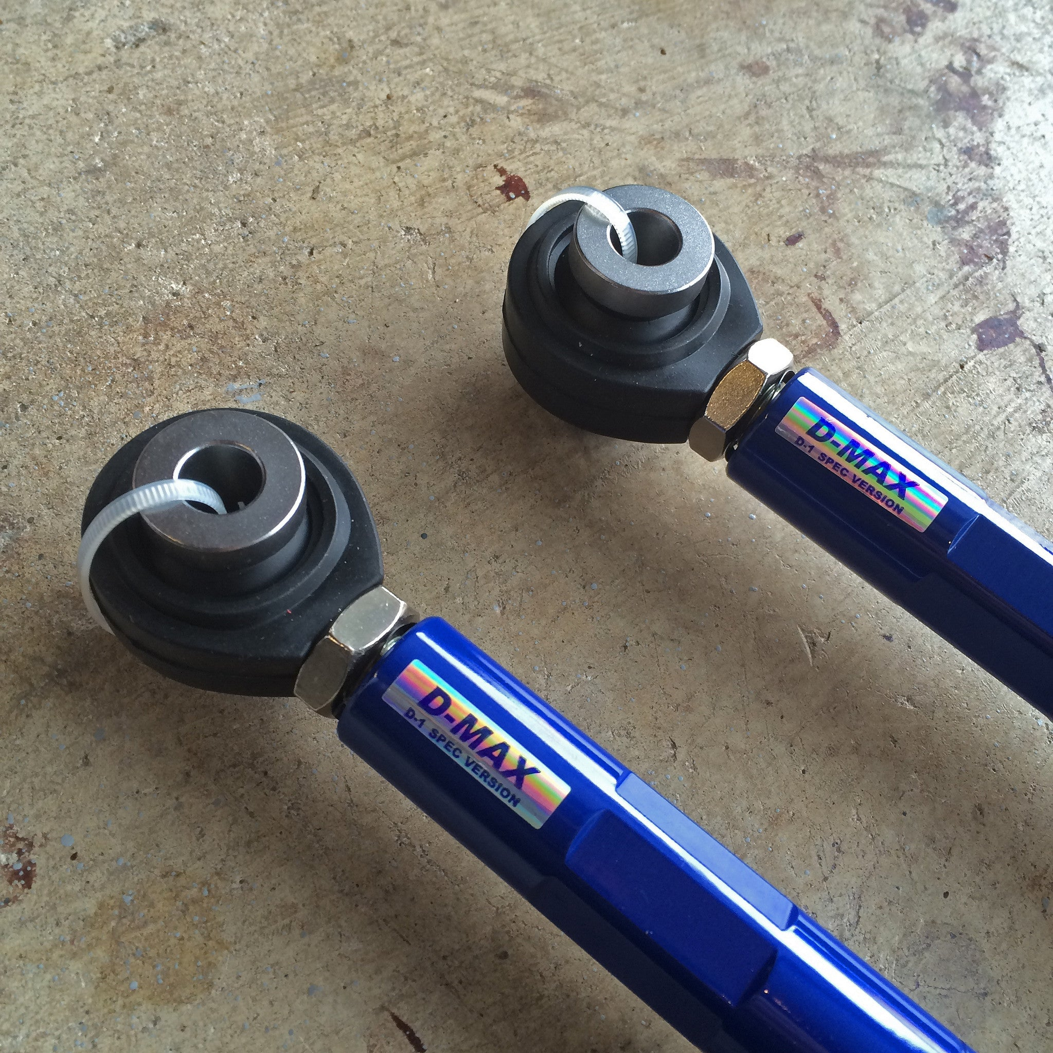 D-Max D1 Spec Traction Rods (Nissan)