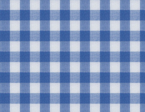 Blue Gingham Check