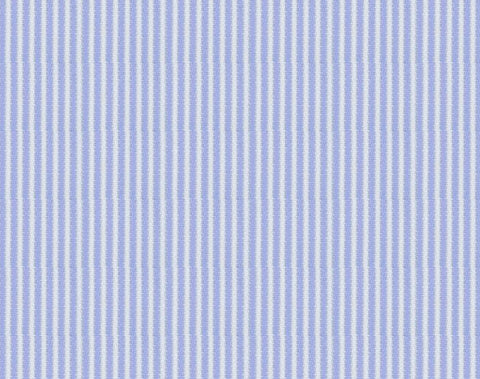 Blue & White Narrow Stripe