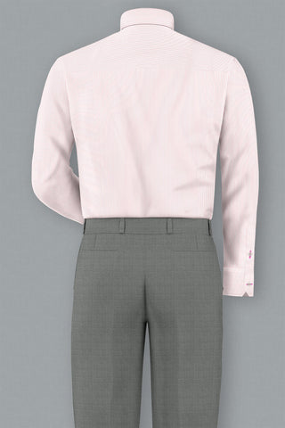 Pink Bankers Stripe