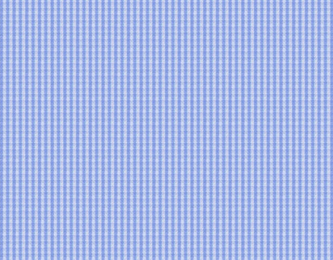 Light Blue Gingham Micro Check