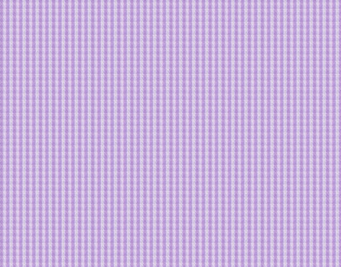 Purple Gingham Micro Check