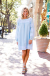 The Katie Dress - Blue