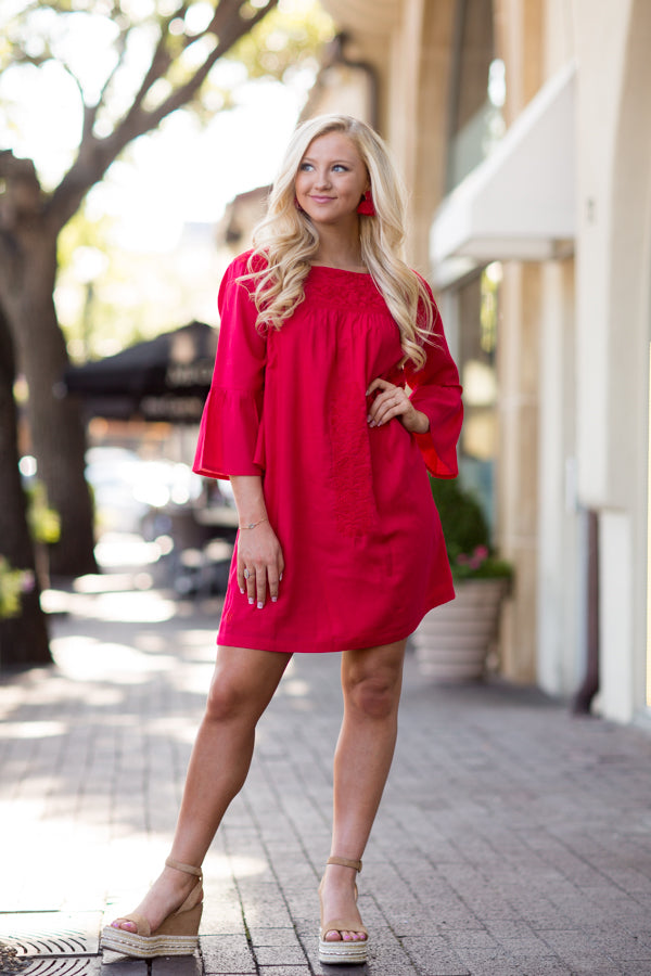 The Reina Long Sleeve Dress