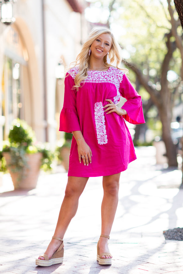 The Margo Long Sleeve Dress