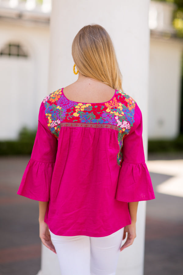 The Rosa Long Sleeve Top