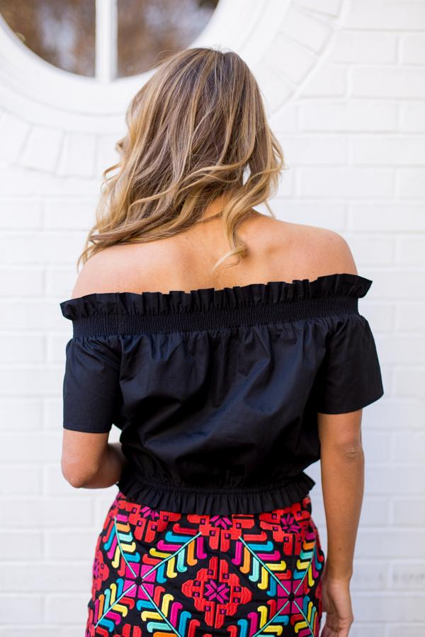 The Shelby Top - Black