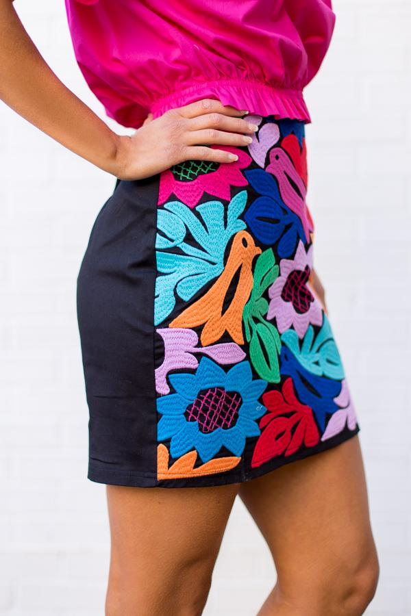 The Maya Skirt - Black