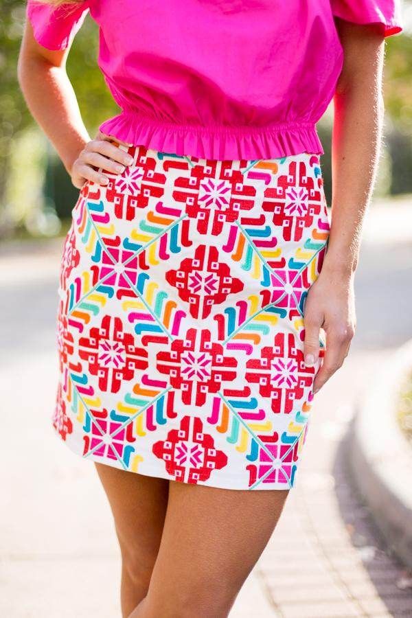 The Mckenna Skirt - White