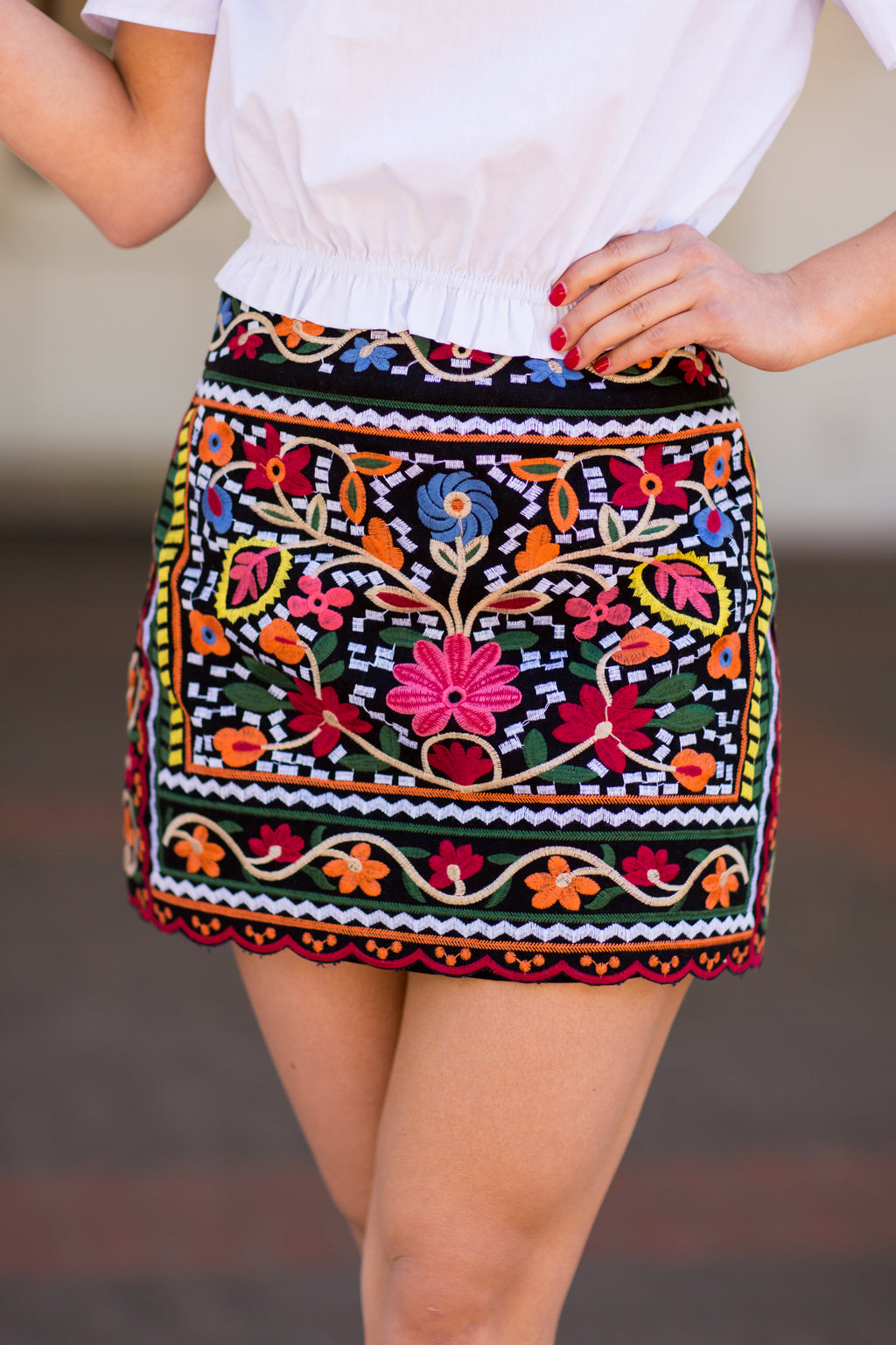 The Harper Skirt - Black