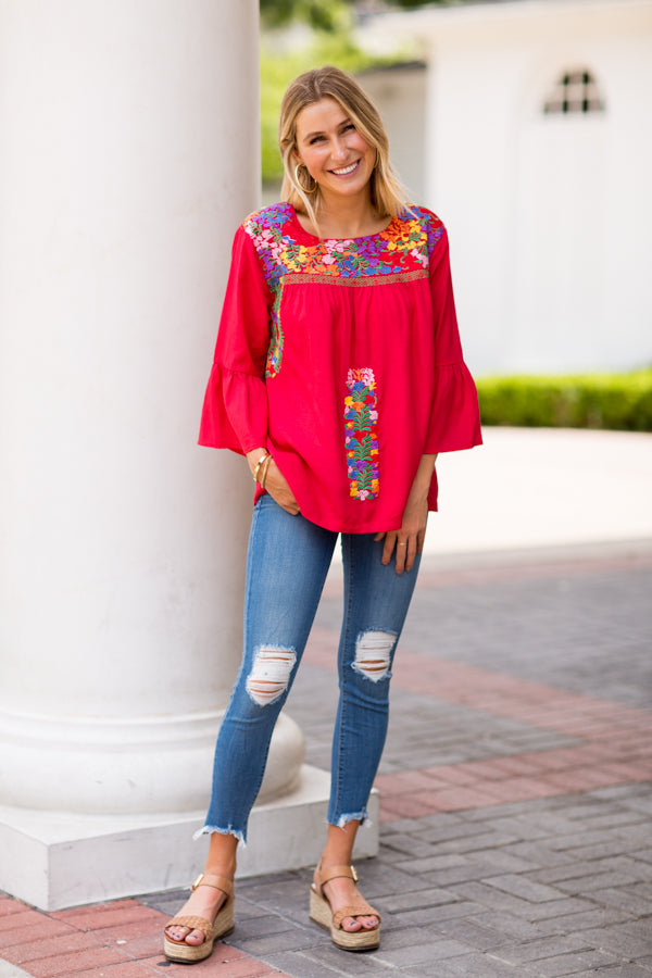 The Catherine Long Sleeve Top