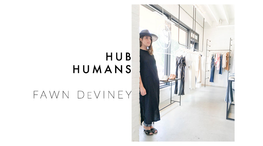 fawn deviney, hub humans, interview, fashion, photography