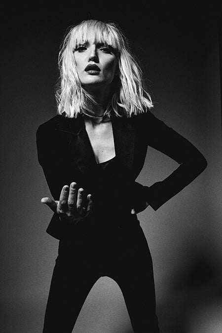 lillian fogel, frequencies, editorial, beauty, debbie harry, fashion, 70's