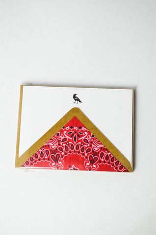 Terrapin Crow A6 Note Cards