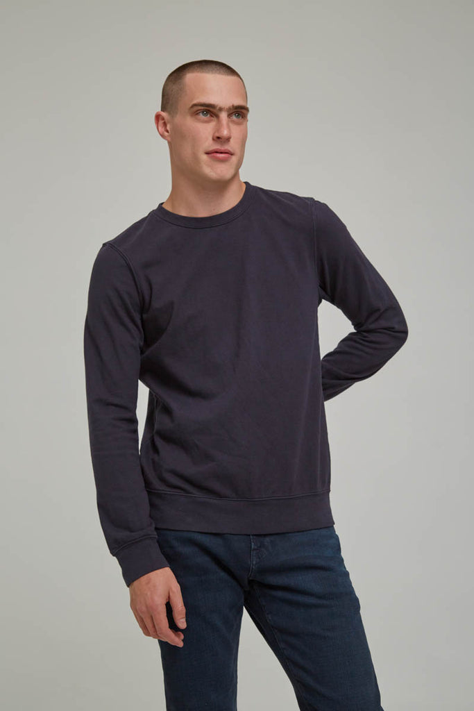FRAME French Terry Long Sleeve Crew