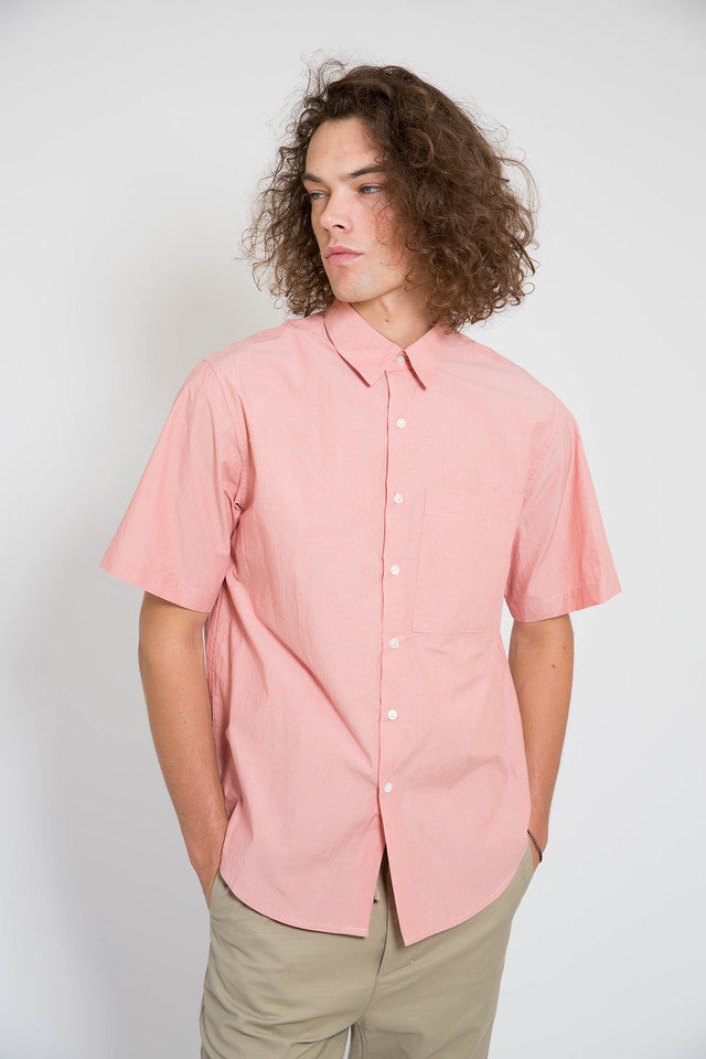 Maiden Noir Boxy SS Shirt Coral