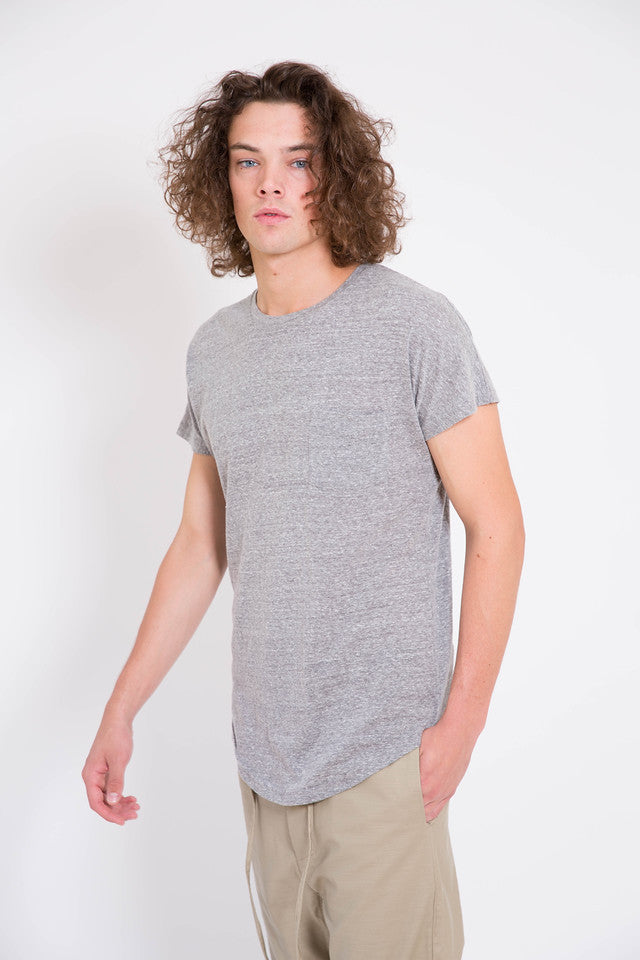 Chapter Yuri Pocket Tee Heather Grey
