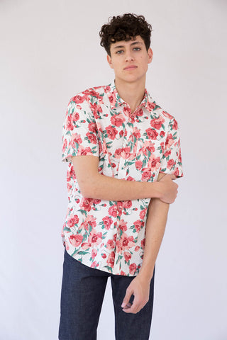ODIN Floral Short Sleeve Shirt