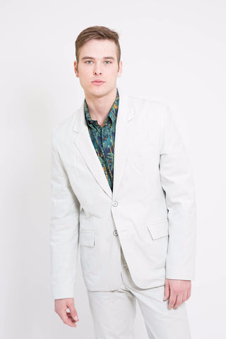 18 Waits Pinstripe Desert Blues Blazer