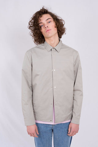 PLAC Banding Detailed Shirt Jacket